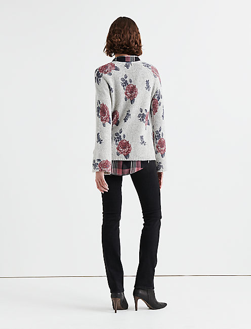 FLORAL PULLOVER,