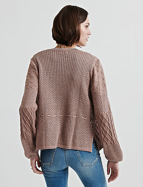 SWEATERS TOP, PINK
