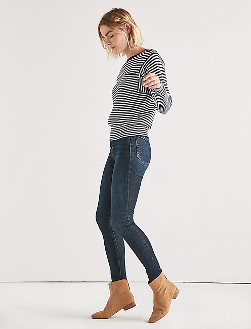 Lucky French Stripe Pullover