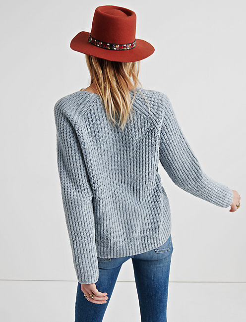 OVERSIZE CHENILLE SWEATER,