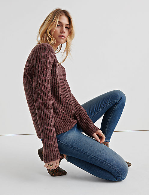 Lucky Oversize Chenille Sweater