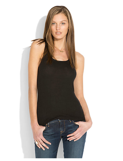 EVELYN TANK, 001 LUCKY BLACK