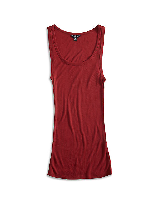 BASIC LAYERING TANK, RICH DARK RED