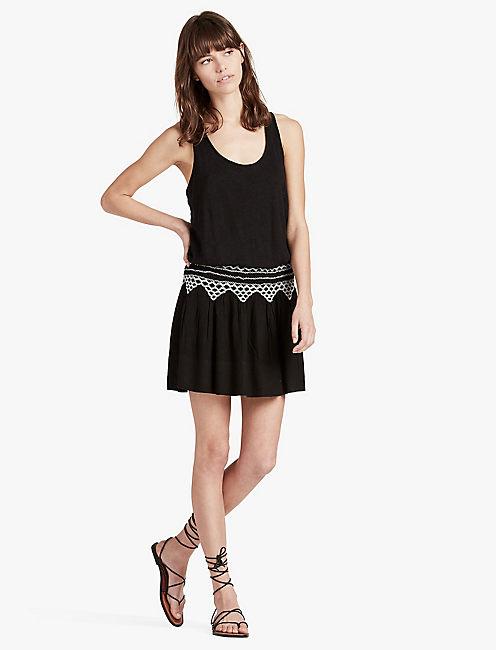 SMOCKED DRESS,