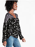 BOUQUET MIX PRINT TOP,