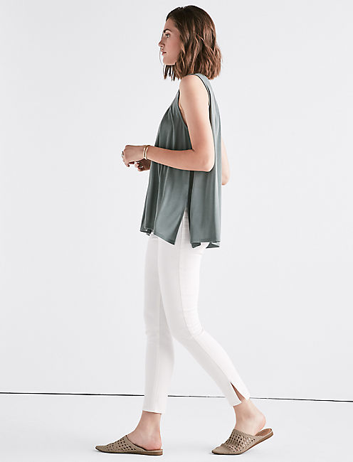 Lucky Sand Wash Cutout Tunic.