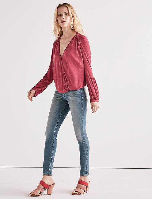 SOLID WRAP TOP,
