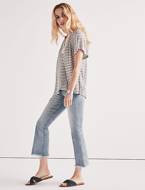 Lucky Drop Needle Stripe Top