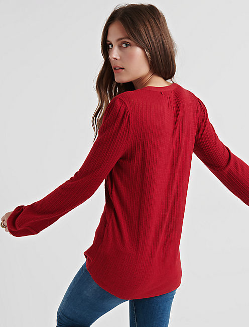 DROP NEEDLE PEASANT, RED