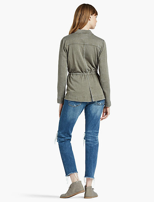 BRUSHED MILITARY JACKET,