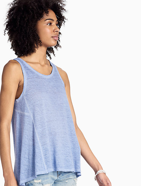 WASHED TANK, #40100 COLONY BLUE