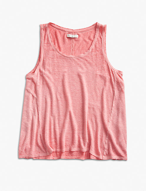 WASHED TANK, SPICED CORAL