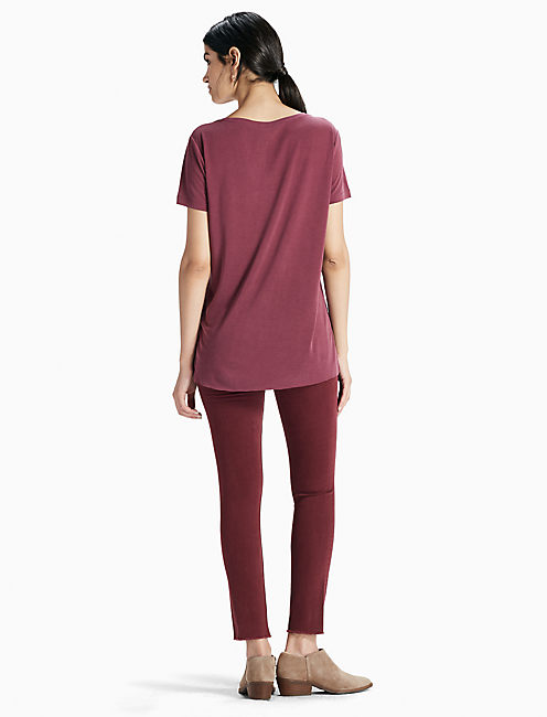 Sand Washed Tee, WINDSOR WINE