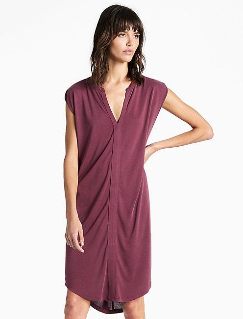 SAND WASHED DRESS, WINDSOR WINE