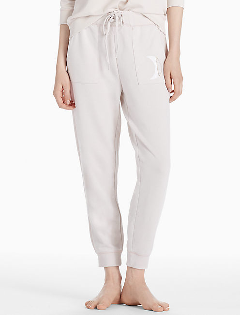 WASHED GRAPHIC PANT, SILVER GRAY