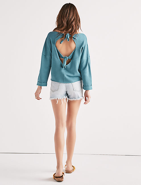 TIE BACK PULLOVER,