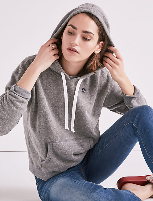 MADE IN L.A. HERITAGE HOODIE, HEATHER GREY