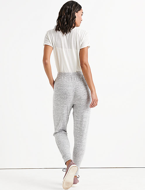 CLOUD JERSEY SLIM JOGGER, HEATHER GREY