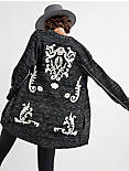 EMBROIDERED TWILL JACKET,