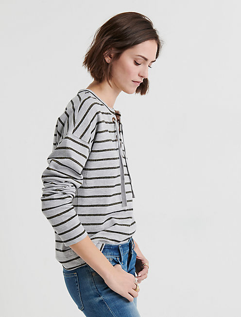 Lucky Shine Stripe Pullover