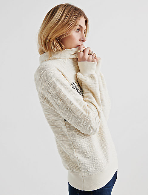 Lucky Fair Isle Turtleneck Pullover