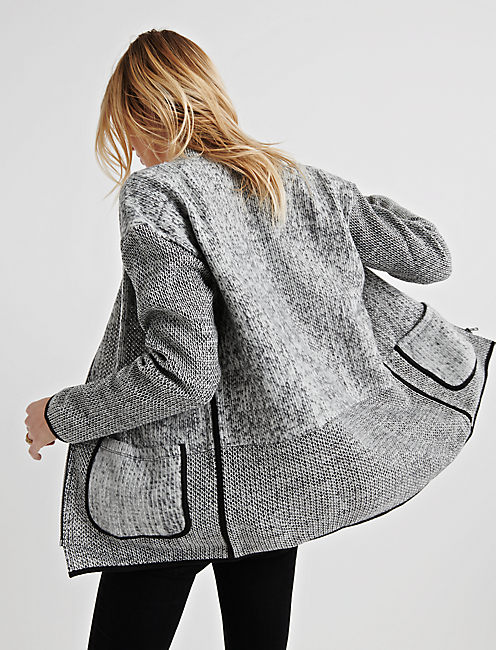 PATCHWORK FLEECE JACKET,
