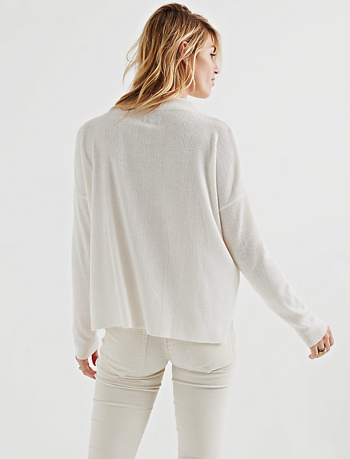 CLOUD JERSEY PULLOVER, 104 CREAM