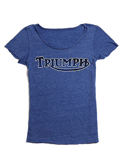 TRIUMPH  BOY TEE, #458 BLUE
