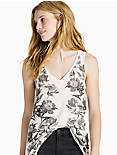 PLACED FLORAL TANK,