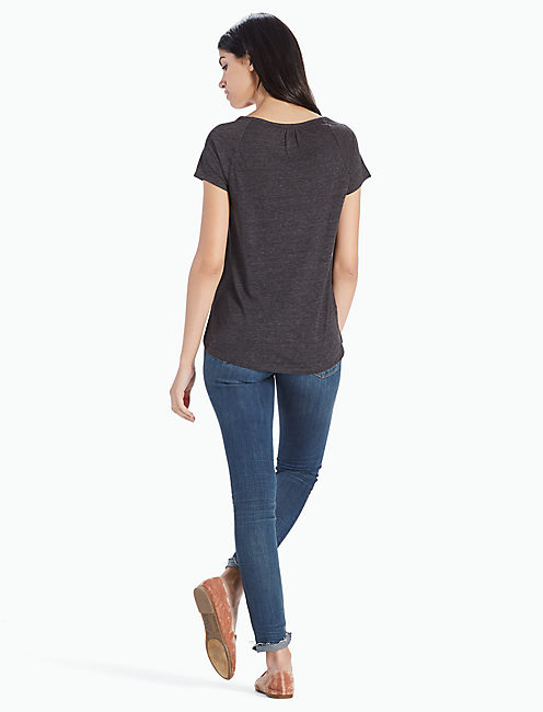 EGYPTIAN MONO TEE, 001 LUCKY BLACK
