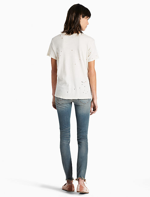 DISTRESS TEE, BIRCH