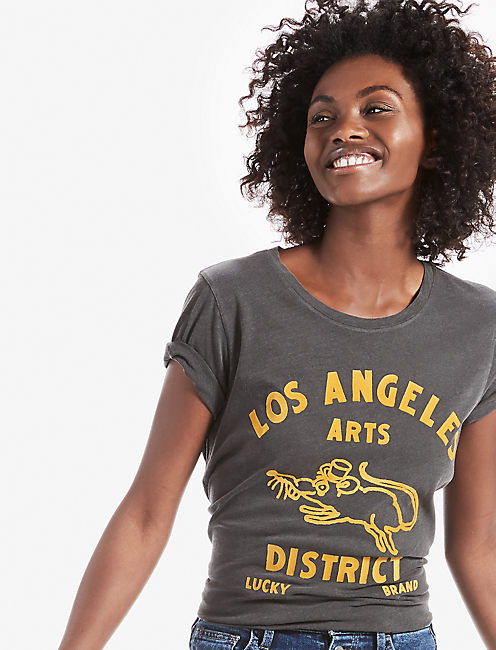 DOWNTOWN ARTS TEE,