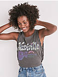 NASHVILLE SIDE LACEUP TEE,