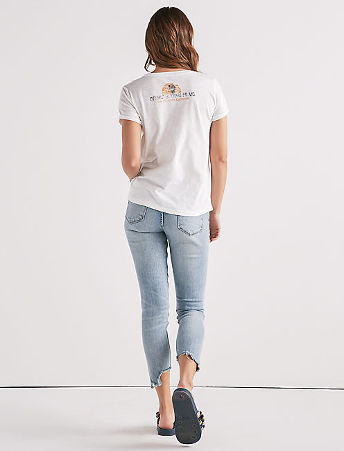 ENDLESS SUMMER TEE, LUCKY WHITE