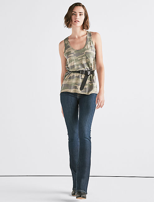 Lucky Camo Pocket Tank