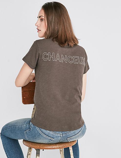 CHANCEAUX CREW TEE,