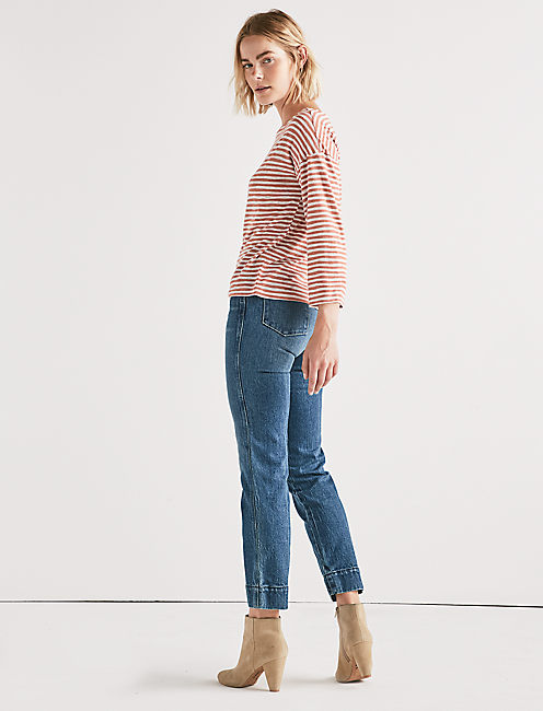 BOAT NECK TOP,