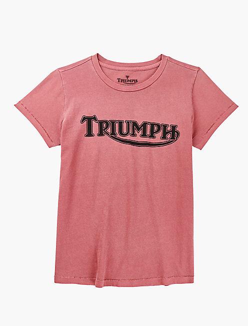 TRIUMPH LOGO TEE,