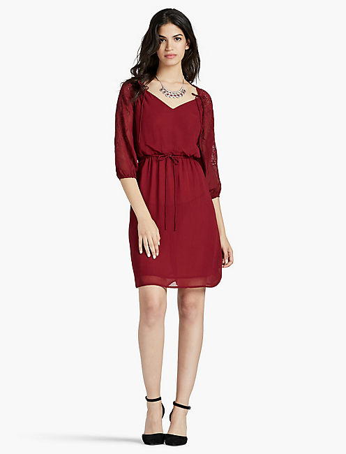EMBROIDERED DRESS,