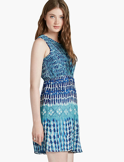 BLUE SHINE DRESS,