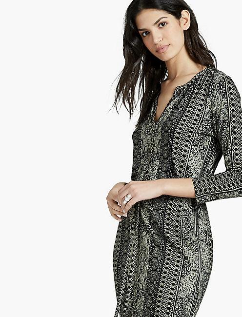 PRINTED DRESS,