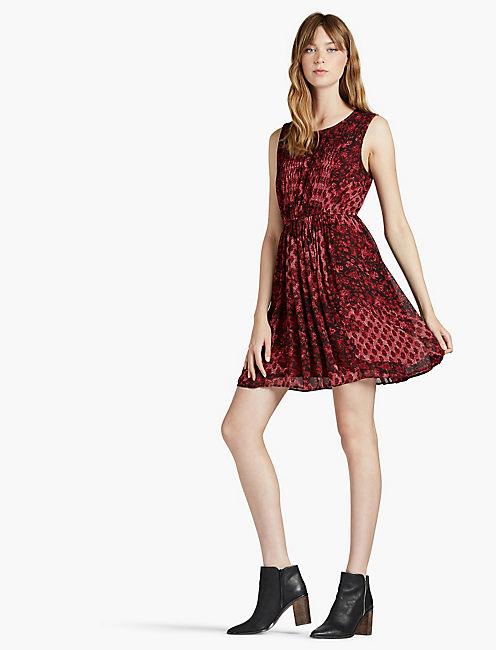 Lucky Snake Print Dress