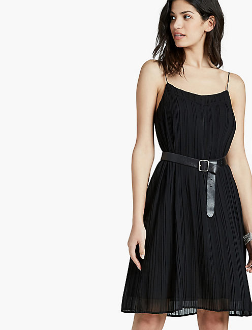 PLEATED DRESS,