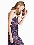 PAISLEY KNIT DRESS,