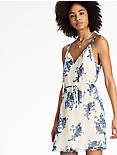 ZOE DRESS, BLUE MULTI