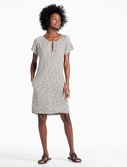 STRIPED TEE DRESS,