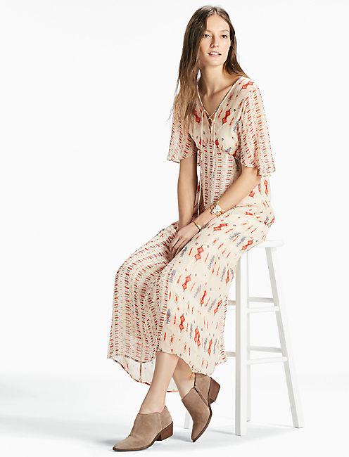 VICKY DRESS, NATURAL MULTI