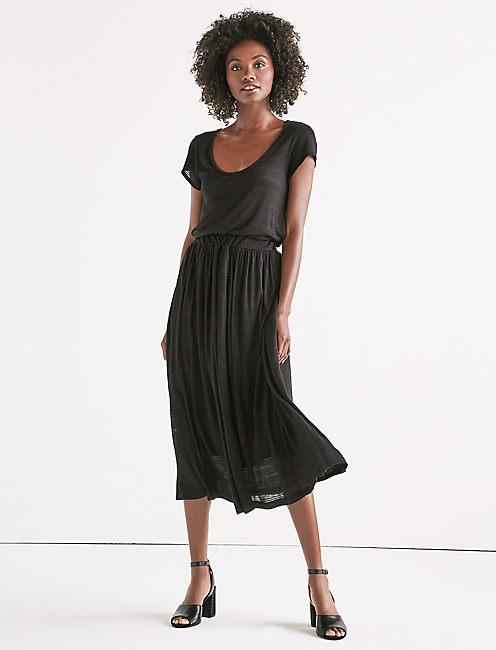 SCOOP NECK DRESS,