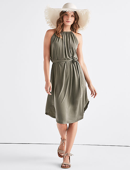 HALTER NECK DRESS,