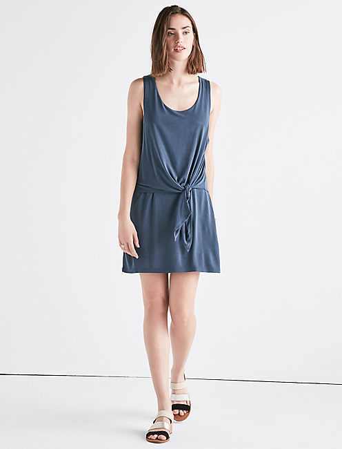 SANDWASH TIE DRESS,